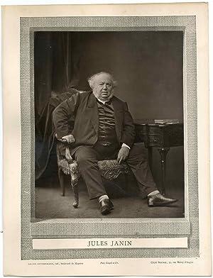 Galerie Contemporaine, Jules Janin (1804 - 1874),: Photographie originale /