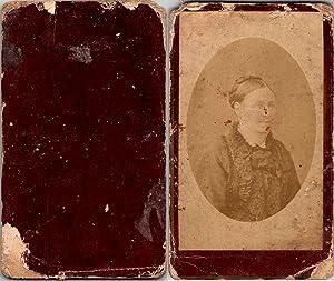 Portrait femme: Photographie originale /