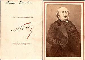 Nadar, Paris, Jules Janin, écrivain et critique: Photographie originale /