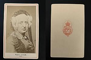 Fanny Lewald, femme de lettres: Photographie originale /