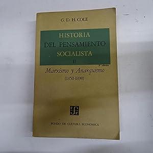 HISTORIA DEL PENSAMIENTO SOCIALISTA II. Marxismo y: COLE, G.D.H.