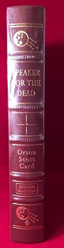 Speaker for the Dead (SIGNED EDITION): Leather) CARD, Orson