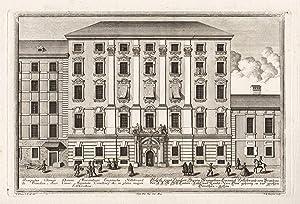 Aufriß eines Haüßes Herren Maximilian Emanuel Hillebrand: Kleiner, Salomon (1700-1761)