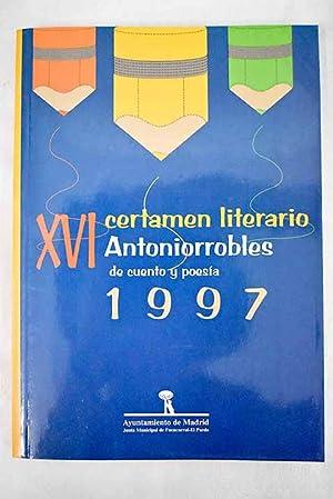 XVI certamen literario Antoniorrobles de cuento y