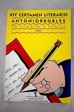 XIV certamen literario Antoniorrobles de cuento y