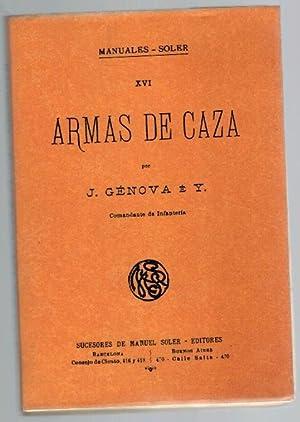 ARMAS DE CAZA: J. Génova e