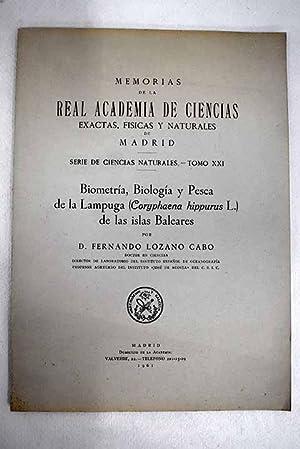 Biometría, biología y pesca de la Lampuga: Lozano Cabo, Fernando