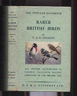 The Popular Handbook of Rarer British Birds: Hollom, PAD