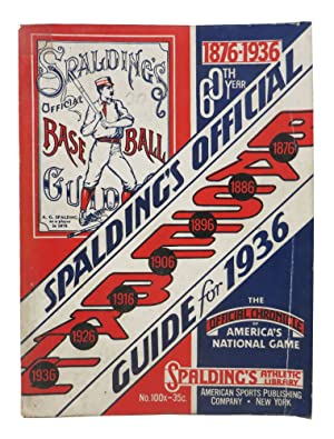 SPALDING'S OFFICIAL BASE BALL GUIDE. Sixtieth Year.: Baseball Literature]. Foster,