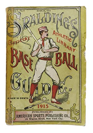 SPALDING'S OFFICIAL BASE BALL GUIDE. Thirty-Ninth Year.: Baseball Literature]. Foster,