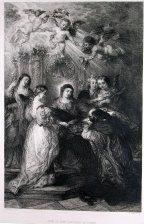 Autel de Saint Ildephonse de Tolede: Unger, W