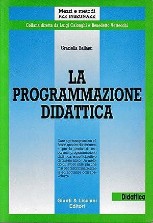 La programmazione didattica: Graziella Ballanti