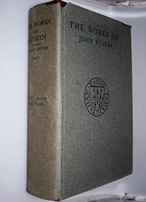 The works of John Ruskin: Vol. 1: Early prose writings 1834-1843.