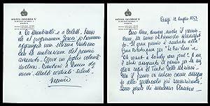 Lettera di Peppino de Filippo a Nico: Peppino de Filippo