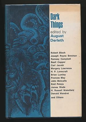 Dark Things SIGNED x 4: August Derleth (ed)