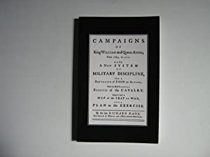Campaigns of King William and Queen Anne from 1689 to 1712