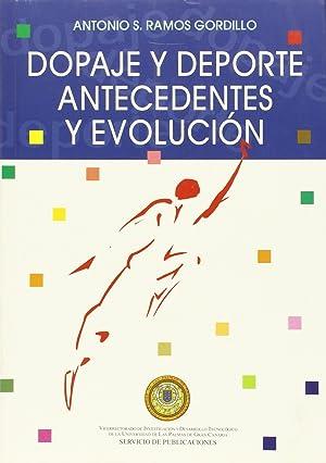 Dopaje y deporte Antecedentes y Evolución: Ramos Gordillo, Antonio