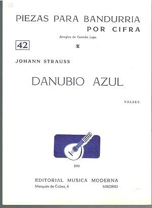 PIEZAS PARA BANDURRIA POR CIFRA Nº42 (Arreglos: Johann Strauss