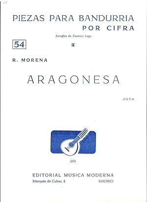 PIEZAS PARA BANDURRIA POR CIFRA Nº54 (Arreglos: R. Morena