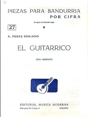 PIEZAS PARA BANDURRIA POR CIFRA Nº27 (Arreglos: A. Pérez Soriano