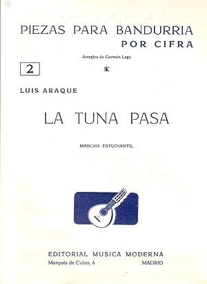 PIEZAS PARA BANDURRIA POR CIFRA Nº 2: Luis Araque