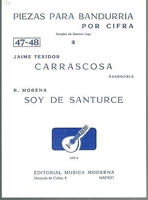 PIEZAS PARA BANDURRIA POR CIFRA Nº 47-47: Jaime Texidor /