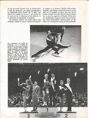 LAMINA 19543: Campeones de las Olimpiadas de: Jaime Ministral