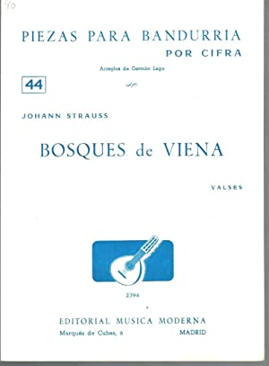 PIEZAS PARA BANDURRIA POR CIFRA Nº 44: Johann Strauss