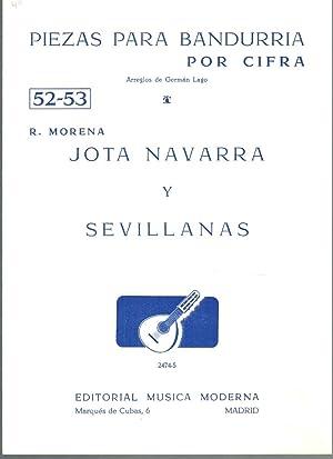 PIEZAS PARA BANDURRIA POR CIFRA Nº 52-53: R. Morena