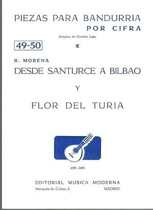 PIEZAS PARA BANDURRIA POR CIFRA Nº 49-50: R. Morena