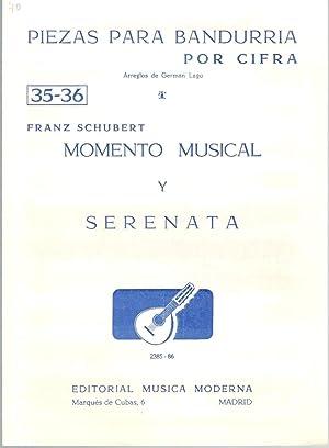 PIEZAS PARA BANDURRIA POR CIFRA N 35-36: Franz Schubert