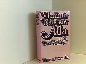 Ada oder Das Verlangen. Aus den Annalen: Nabokov, Vladimir: