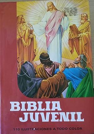 BIBLIA JUVENIL. 110 ILUSTRACIONES A TODO COLOR.