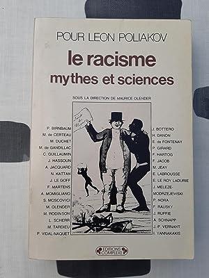 Pour Léon Poliakov. Le racisme, mythes et: Collectif
