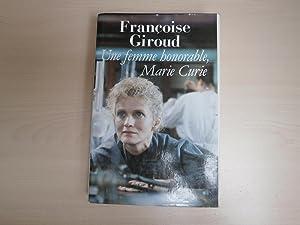 UNE FEMME HONORABLE: FRANCOISE GIROUD