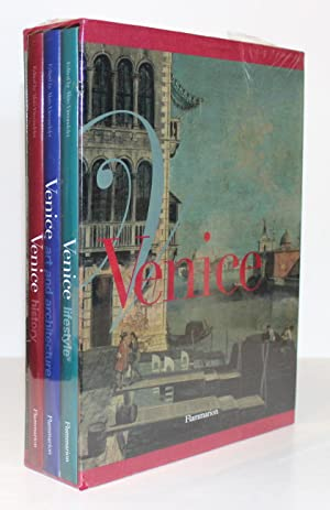 Venice: History; Art and Architecture; Lifestyle. Set of 3 Volumes in Slipcase and Publisher's Sh...