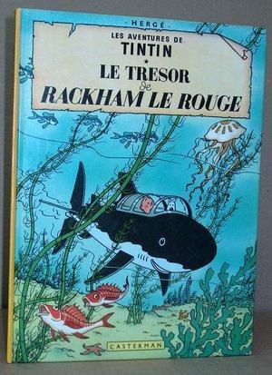 Tintin N° 12 - Le Trésor de: Hergé