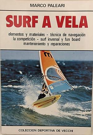 Imagen del vendedor de SURF A VELA (Barcelona, 1984) a la venta por Ababol libros y regalos