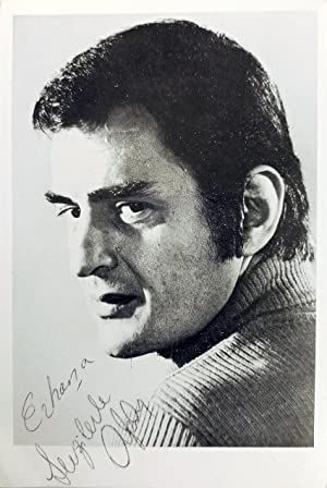 Original print photograph signed and inscribed 'Alpay'.