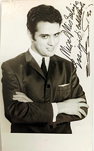 [TURKISH ELVIS] Original photograph signed and inscribed 'E. B.'.
