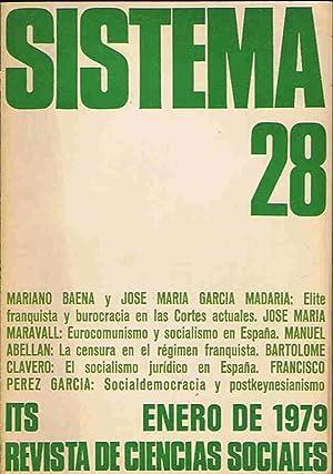 SISTEMA. Revista de Ciencias Sociales. LOTE: Años: Díaz. Elías, (director)