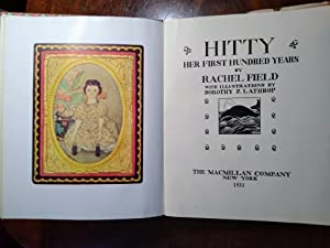 Hitty, Her First Hundred Years (SIGNED By: Rachel Field