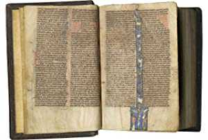 Vulgate Bible; in Latin, illuminated manuscript on parchment