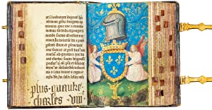 "The "" Petites Heures "" of Charles VIII of France, Book of Hours (use of Paris); in Latin, illumin..."