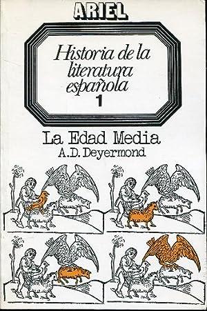 Historia de la literatura española 1 (I).: Deyermond, A. D