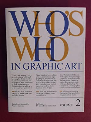 Who's who in graphic art : Volume: Amstutz, Walter (ed.):
