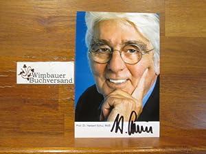 Original Autogramm Herbert Schui (1940-2016) Wirtschaftswissenschaftler ///: Schui, Herbert :