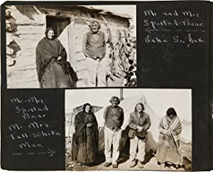 [ANNOTATED VERNACULAR PHOTOGRAPH ALBUM FEATURING A FARMING FAMILY IN SOUTH DAKOTA, WITH PICTURES ...