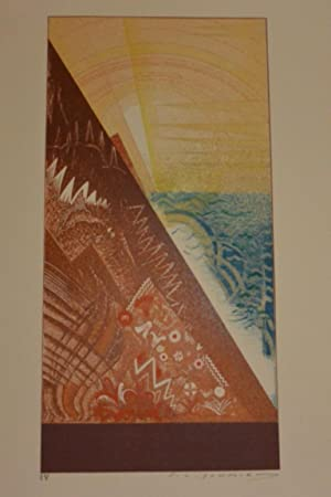 La Création. Les trois premiers livres de: SCHMIED, FRANCOIS-LOUIS [ILLUSTRATOR]