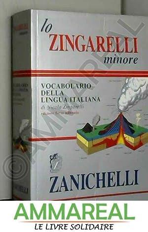 Lo Zingarelli Minore: Vocabolario Della Lingua Italiana: Nicola Zingarelli